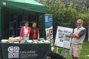 Some of our CPRE Lancashire volunteers at the show