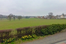Photo of site looking northwest from Whalley Road